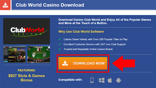 Club World Casino Iphone
