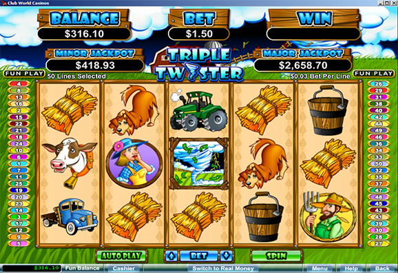 club world casino slots
