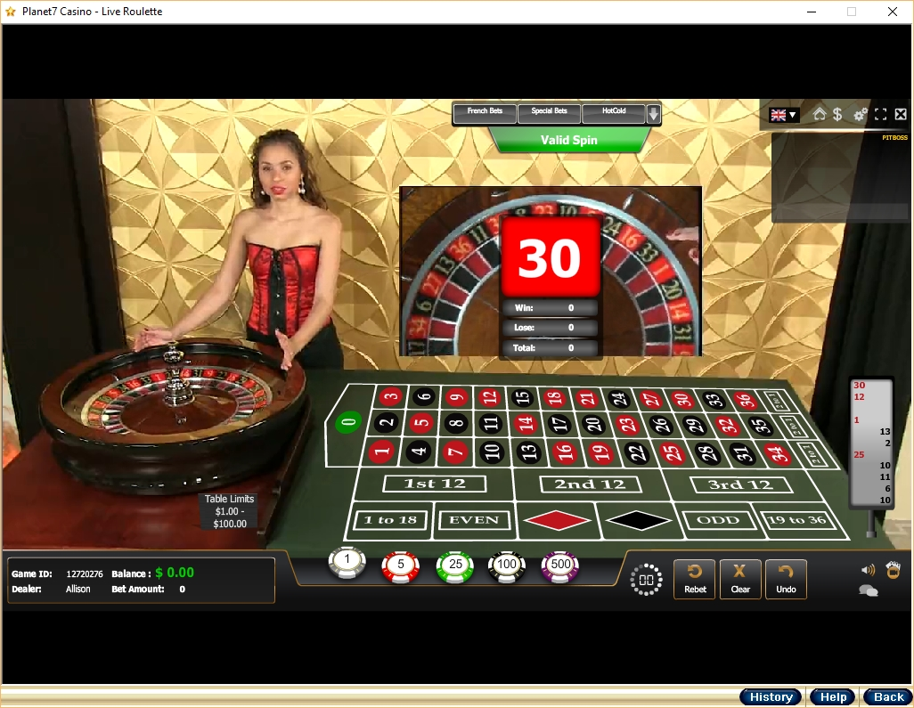 Live dealer casino – spela Live Dealer Casinonpel online
