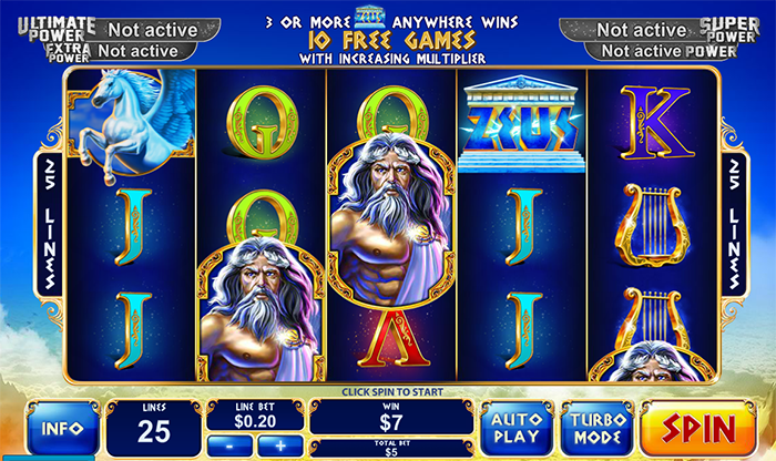 Play Age of the Gods King of Olympus Slots at Casino.com South Africa