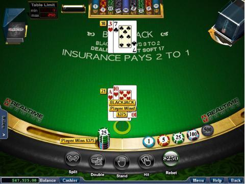 Online Blackjack casino games