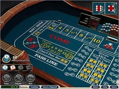 Online Craps casino games