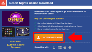 Desert Nights Casino Download Step 1
