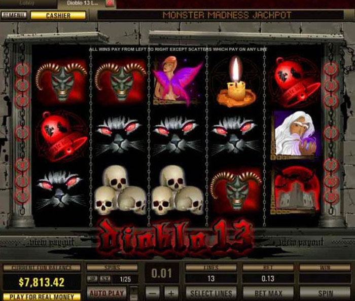 Diablo 13 Slot Machine - Free Online Casino Game by Pragmatic Play
