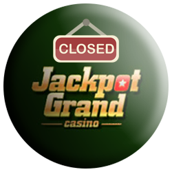 Jackpot Grand Casino closed logo
