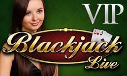 Live Dealer VIP Blackjack logo