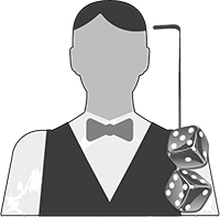 Live dealer craps icon