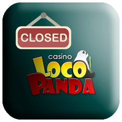 Loco Panda Casino closed logo