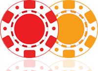 MasterCard Casino Logo with Poker Chips