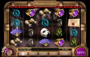 Phantom of the Opera slot machine
