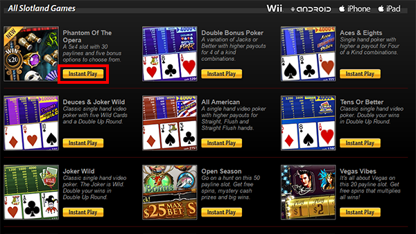 party casino instant play