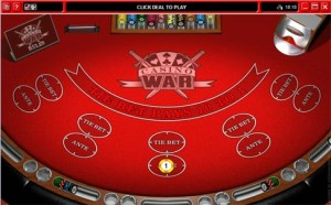Ladbrokes Casino War Game