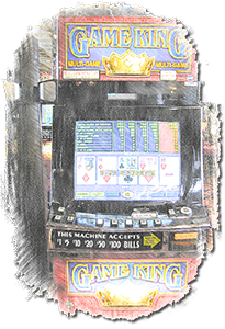 Video poker machine SC