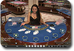 Live Dealer Blackjack Blue Playtech