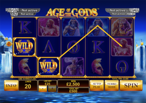 Age of the Gods slot machine