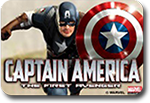 Captain America The First Avenger scratch card