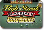 High Streak Blackjack gold series