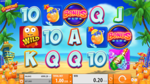 Spinions Beach Party slot machine