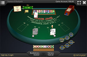 Diamond Blackjack online