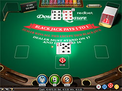 Double Exposure Blackjack online