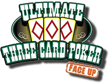 Ultimate Three Card Poker logo