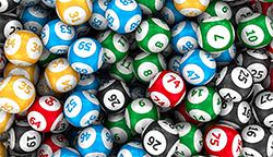 Live Dealer Lottery numbered balls
