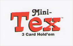 Mini Tex 3 Card Holdem logo