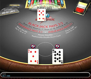 Power Blackjack online