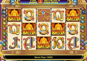 slots with scatter symbols