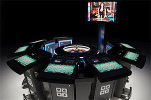 Video Roulette table
