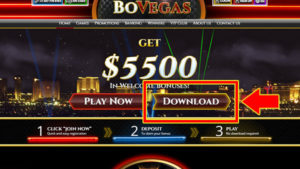 Download BoVegas Casino software