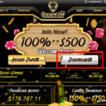 Golden Lion Casino download button