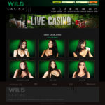 WildCasino live dealer games