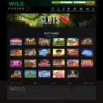 WildCasino slots games