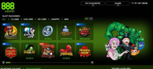 Download 888 Casino software