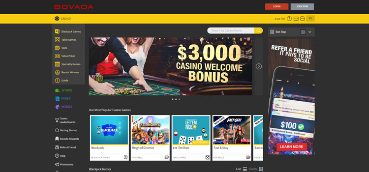 Bovada Casino Casino Instant Download