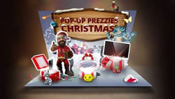 Magic Red Pop-Up Prezzies Christmas promo