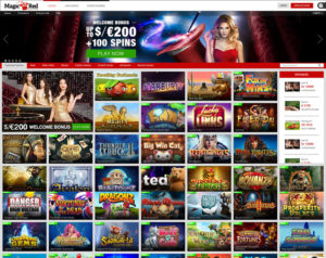Magic Red casino site