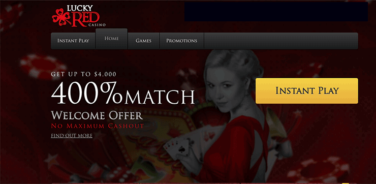 lucky red casino free money