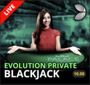 Jackpot City Live Dealer Blackjack