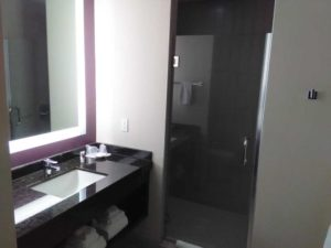 Cherokee Valley River Hotel Room Bathroom