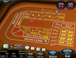 Ignition Casino Craps
