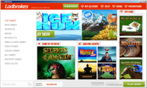 Ladbrokes Top Casino Games