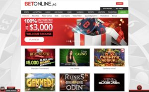 Play at BetOnline Casino for Real Money