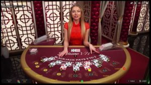 Spin Palace Live Dealer Blackjack