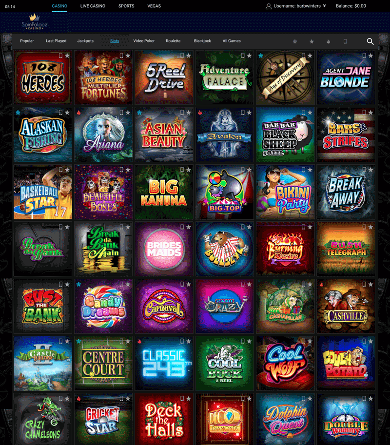 casino free spin slot games