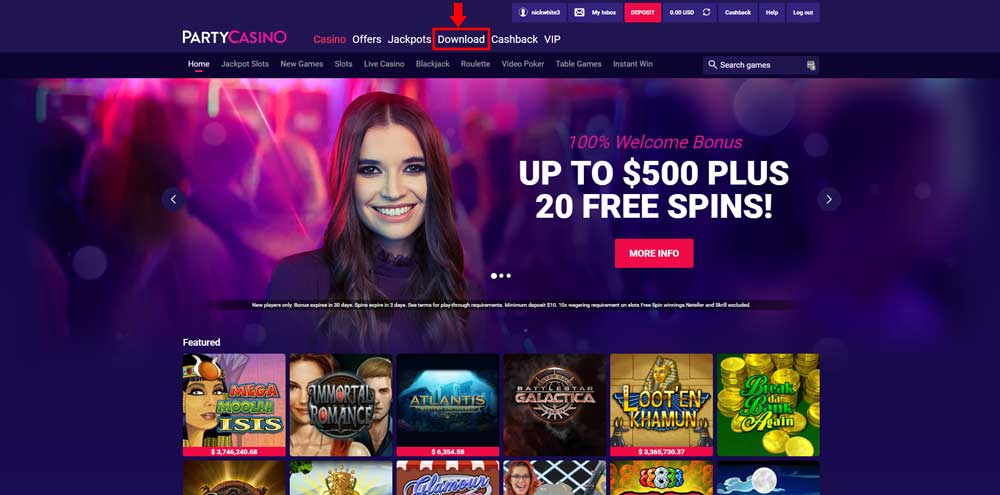 best online casino first deposit bonus