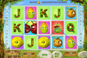 Fruity Friends Slot Game Magic Red Casino