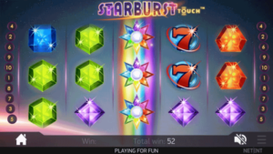 Magic Red Starburst Slot Game