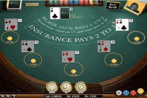 BetOnline Blackjack Gameplay